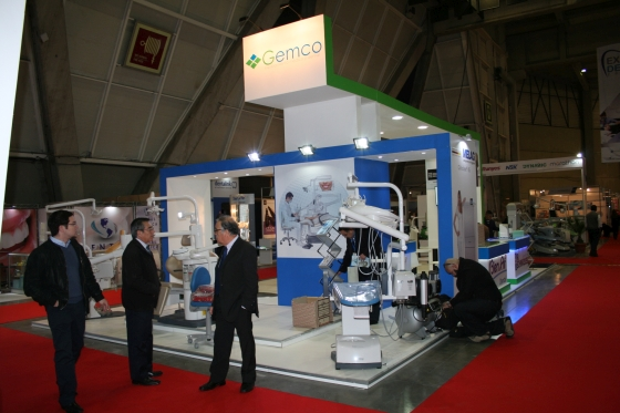 GEMCO booth at EXPODENT 2016 in Santiago de Chile