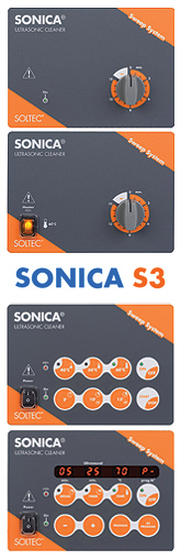 SONICA ultrasonic cleaners series